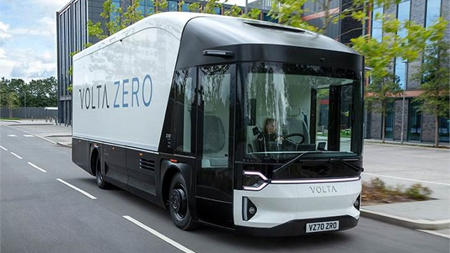 Volta Trucks reveals the Volta Zero – the first purpose-built full-electric large commercial vehicle for inner city freight distribution