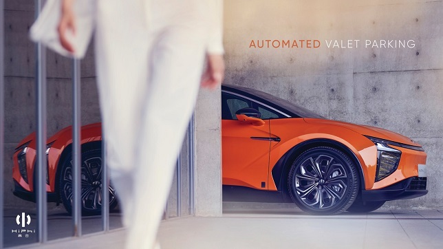 Autonomous Valet Parking system rolled-out on Human Horizons' HiPhi X