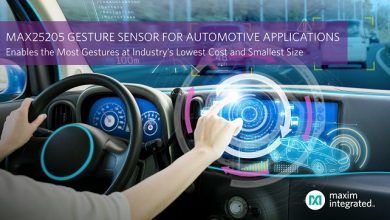 Maxim Integrated enables dynamic gesture sensing for automotive applications