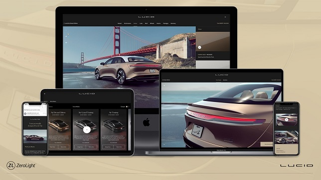 Lucid Motors partners with ZeroLight to reshape the luxury automotive purchase experience