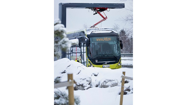 Volvo Buses delivers to the world's northernmost operator of electric buses