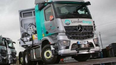 The new Mercedes-Benz Arocs in London – with a focus on safety