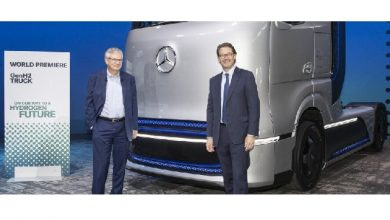 Daimler Trucks presents technology strategy for electrification – world premiere of Mercedes-Benz fuel-cell concept truck