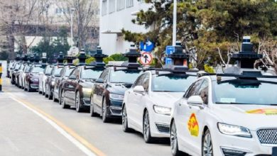 Photo of Baidu displays autonomous car without safety driver