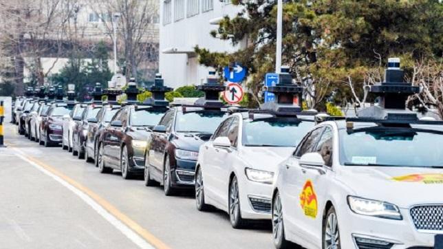 Baidu showcases newest autonomous car without safety driver
