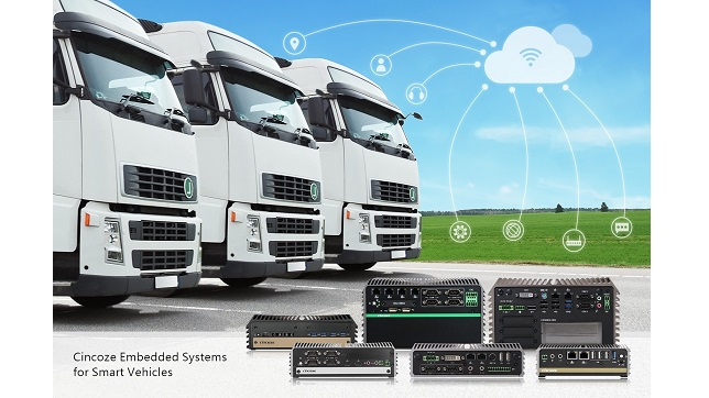 Cincoze embedded system helps new development of smart vehicle