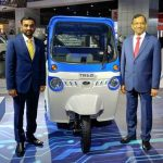 Mahindra launches new electric three-wheeler Treo in Telangana