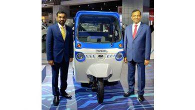 Photo of Mahindra launches new electric three-wheeler Treo in Telangana