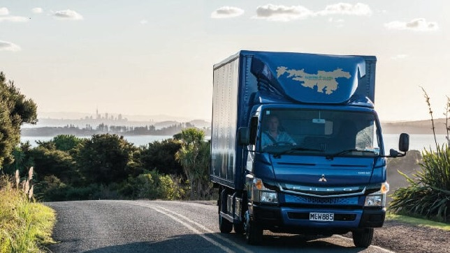 Reliable on five continents: FUSO eCanter travels the world to promote all-electric urban delivery
