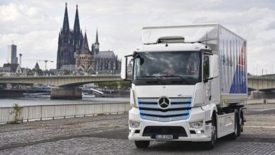 Photo of Mercedes-Benz electric truck starts work at Remondis in Cologne