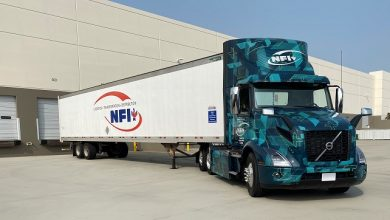 Photo of NFI begins piloting Volvo VNR Electric heavy-duty trucks in Southern California