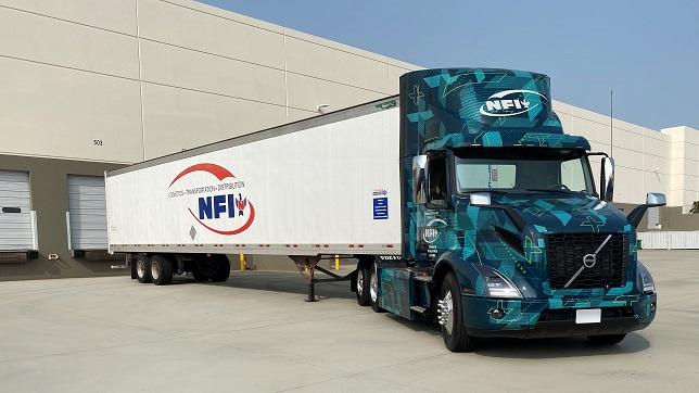 NFI begins piloting Volvo VNR Electric heavy-duty trucks in Southern California