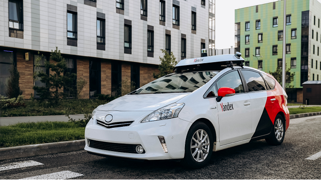 Yandex restructures self-driving business