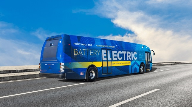 Proterra unveils the Proterra ZX5 next-generation Battery-Electric transit vehicle