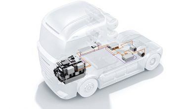 Photo of Bosch developing hydrogen fuel-cell powertrain
