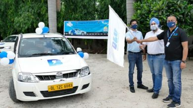 Photo of Delhi to Mumbai in electric vehicle: BluSmart Mobility flags off India's first all-electric travel