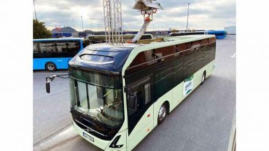 Volvo Buses presents a new alternative for charging electric buses