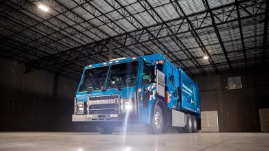 Photo of Mack® delivers LR Electric Model to Republic Services to begin real-world trials