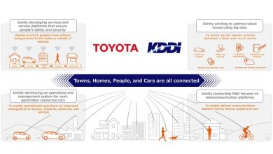 Photo of Agreement on new business and capital alliance between Toyota Motor Corporation and KDDI Corporation