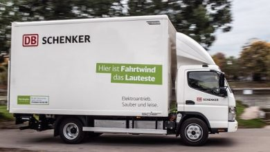 Green supply chains for Europe: DB Schenker expands its electric fleet with 36 new FUSO eCanter vehicles