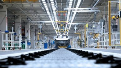 Photo of SAIC VW's EV-only plant starts official production