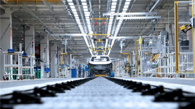 SAIC VW's EV-only plant starts official production
