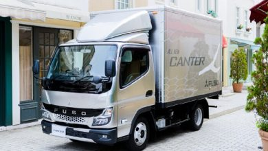 Mitsubishi Fuso premieres the new light-duty Canter truck in Japan