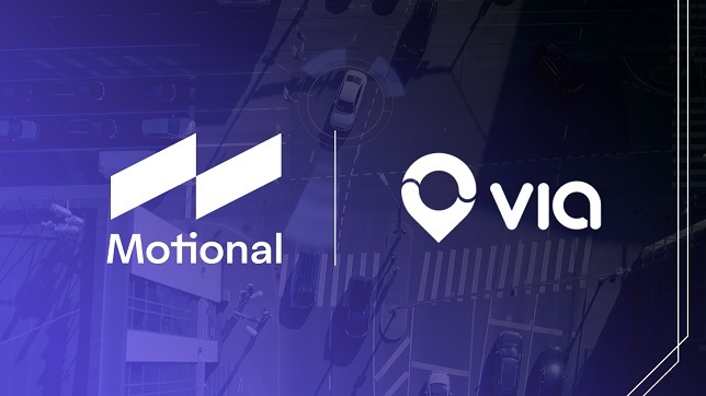 Motional and Via partner to launch a platform for public, on-demand shared Robotaxi Rides