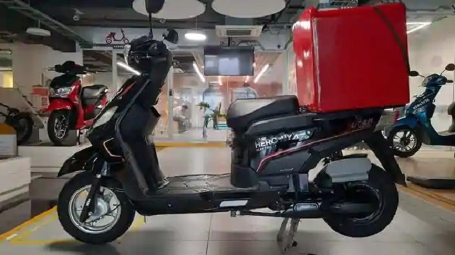 Hero Electric City Speed Nyx-HX electric scooter launched with 210 km range