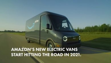 Photo of Introducing Amazon's first custom electric delivery vehicle