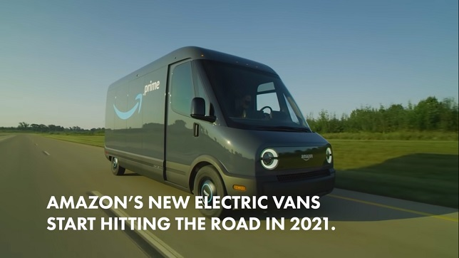 Introducing Amazon's first custom electric delivery vehicle