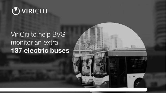 ViriCiti to help BVG monitor an extra 137 electric buses