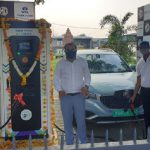 MG Motor and Tata Power inaugurate EV Charging Station in Nagpur