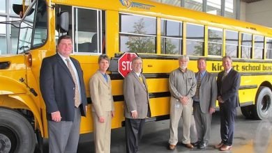 Photo of IC Bus announces ultra-low NOx propane engine offering for its CE Series school bus