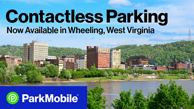 Wheeling introduces contactless parking payments with the ParkMobile App