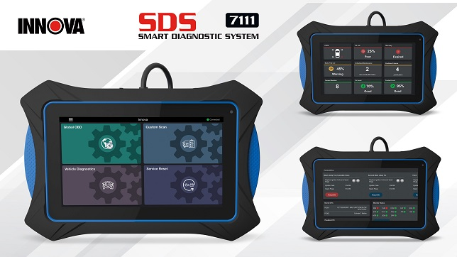 Innova launches intuitive touch screen OBD2 diagnostic tablet