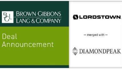 BGL announces the merger of Lordstown Motors Corporation with DiamondPeak Holdings Corporation in a transaction valued over $1.6 billion