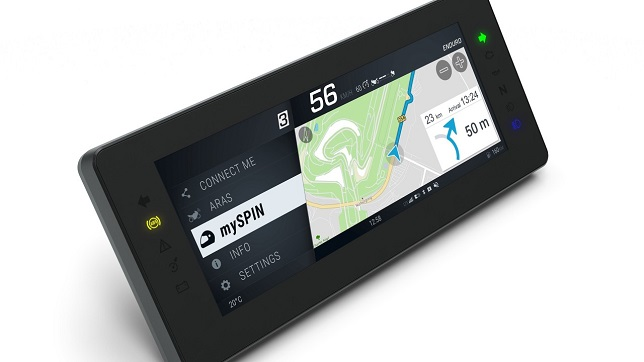 Bosch: world's first fully integrated split screen for motorcycles rolls out on the road