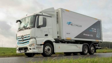 Photo of First Mercedes-Benz eActros in Belgium: Van Mieghem Logistics tests battery-electric truck