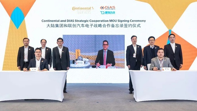 SAIC-owned DIAS, Continental AG to team up on intelligent braking system