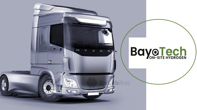 HYZON Motors signs agreement for BayoTech to provide hydrogen infrastructure development