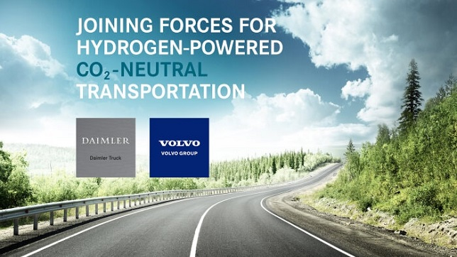 Volvo Group and Daimler Truck AG sign binding agreement for new fuel-cell joint venture