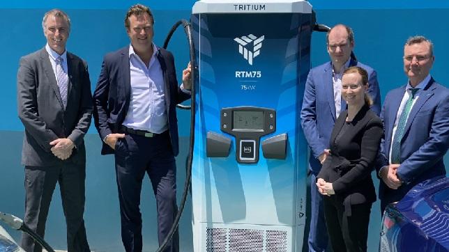 Tritium unveils world first scalable electric vehicle charging platform