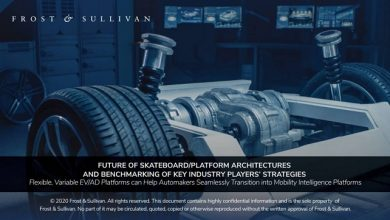 Photo of Frost & Sullivan: Unfolds the future of vehicle platform strategies in the age of CASE