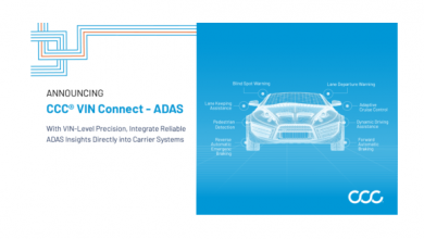 Photo of CCC Introduces Vehicle-Level ADAS Insights