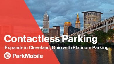 Photo of ParkMobile expands in Cleveland, Ohio, offering contactless payments at all Platinum Parking Locations