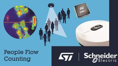 STMicroelectronics and Schneider Electric reveal advanced people-counting solution using Artificial Intelligence on STM32 Microcontroller