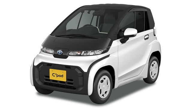 """Toyota launches """"C+pod"""" Ultra-Compact battery electric vehicle in Japan"""