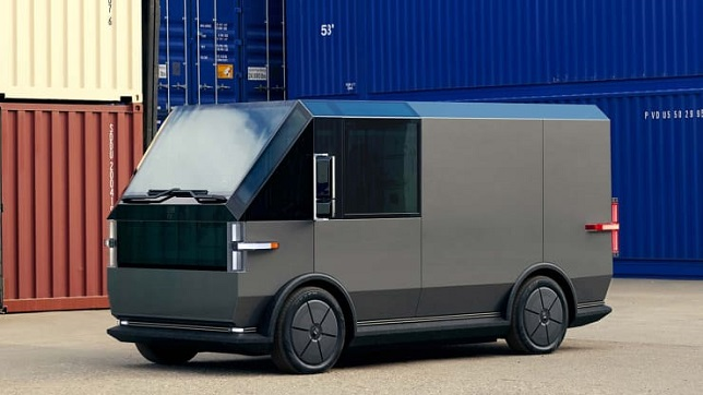 AUTOS EV start-up Canoo unveils new vehicle ahead of Nasdaq debut