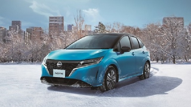 Nissan introduces all-new Note e-POWER AWD in Japan
